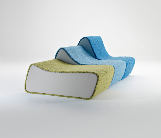Surfer Sofa - Modular sofa by Pudelskern