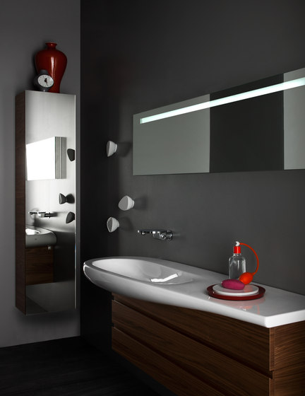 ILBAGNOALESSI One | Mirror cabinet by Laufen