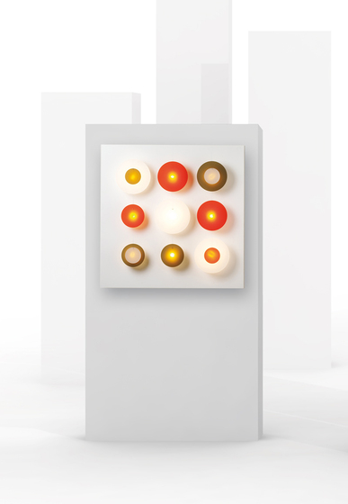 Illico 9 I411 wall lamp by Dix Heures Dix
