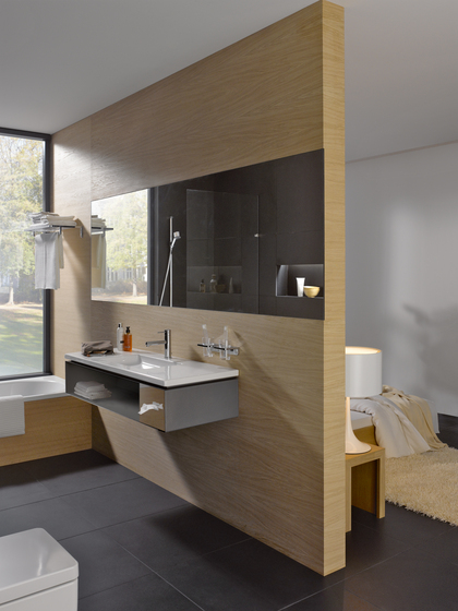 living square | Countertop double washbasin by Laufen