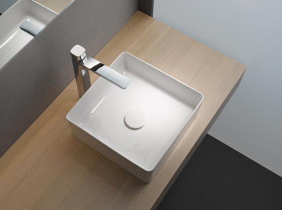 living square | Countertop Drop-in washbasin de Laufen