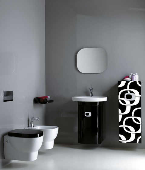Mimo | Mirror with lighting by Laufen