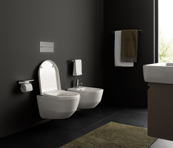 laufen pro wc bidet by laufen laufen pro wall hung wc. Black Bedroom Furniture Sets. Home Design Ideas