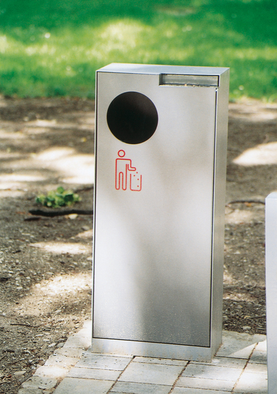 crystal Litter bin by mmcité