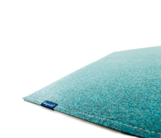Fabric [Flat] Felt azur grey by kymo