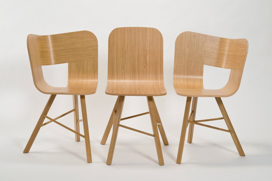 Tria Wood Chair 3 by Colé