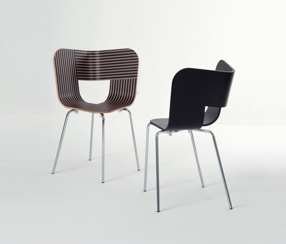 Tria Wood Chair 4 de Colé