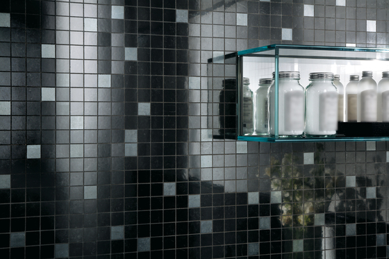 Admiration Midnight Black Mosaico Dek by Atlas Concorde