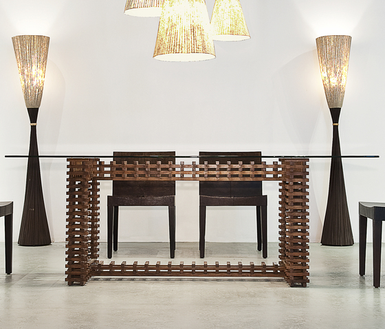 Retaso Dining Table* by Kenneth Cobonpue