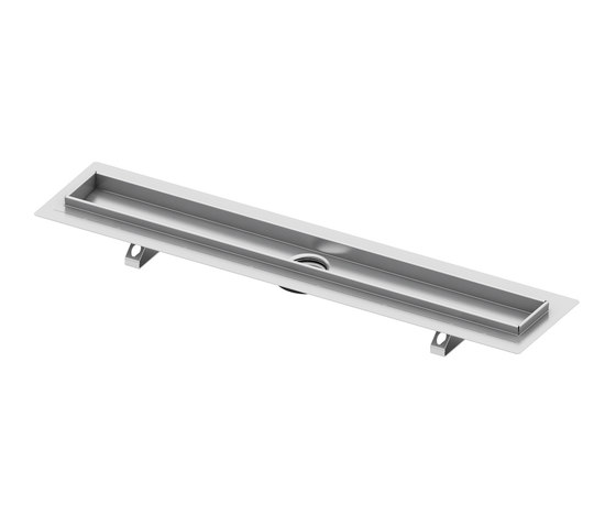 "TECEdrainline shower channels stainless steel ""basic"" de TECE"