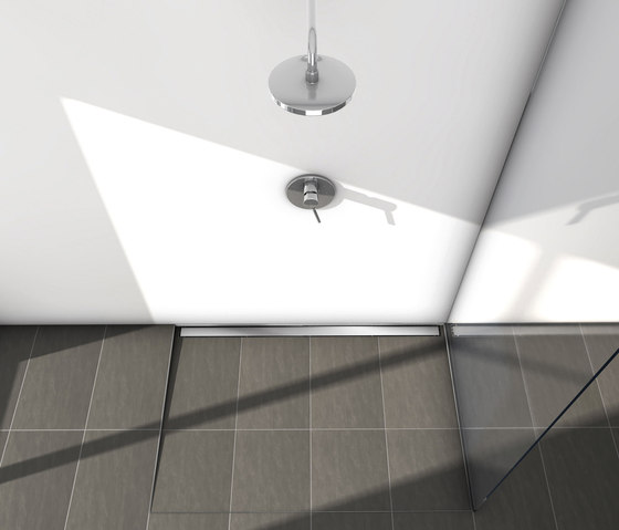 TECEdrainline shower channels stainless steel de TECE