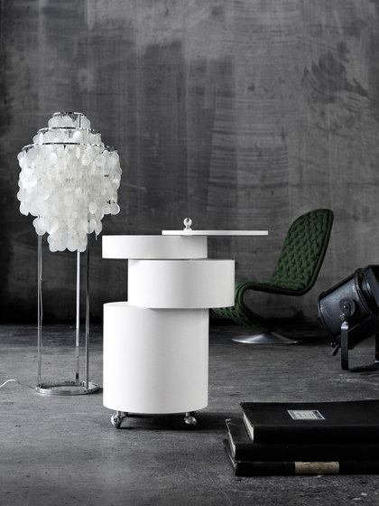 Barboy White | Table by Verpan