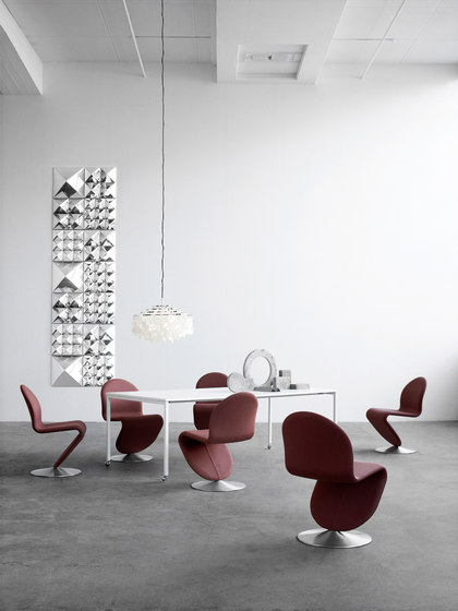 System 1-2-3 | Dining Chair Deluxe by Verpan