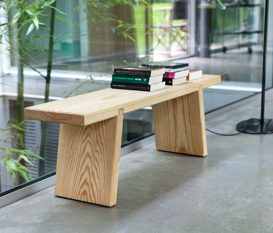 Bench wood by Functionals