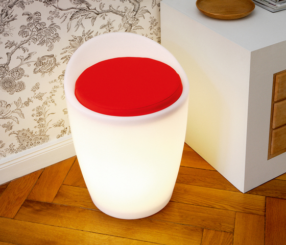 OTTO lighted stool indoor de Authentics