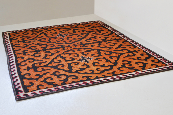 Rosa by karpet