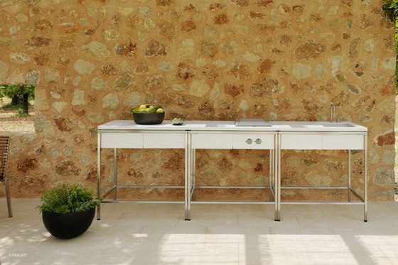 Outdoor Kitchen | Sink, 1 drawer by Viteo