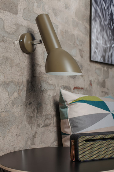 Oblique Wall fixture | Petrol blue de Cph Lighting