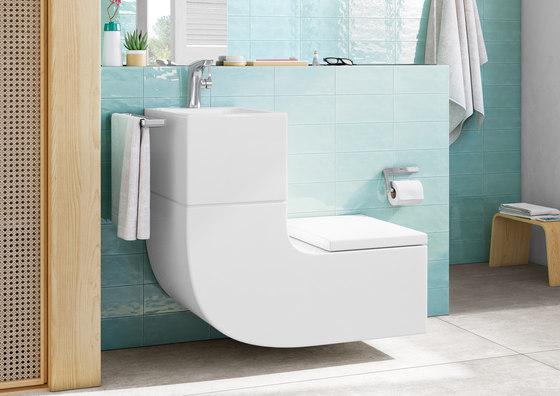 W+W | Washbasin + WC by ROCA