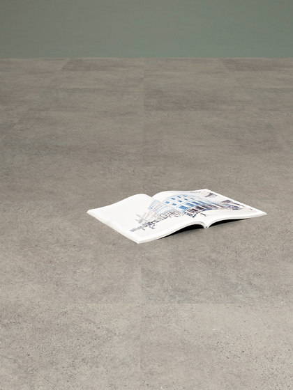 Expona Commercial - Cool Grey Concrete Stone by objectflor