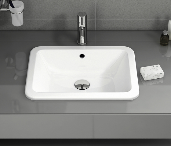 S20 Countertop basin, 43 cm, round by VitrA Bad
