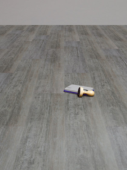 Expona Design - Grey Limed Oak Wood Smooth de objectflor
