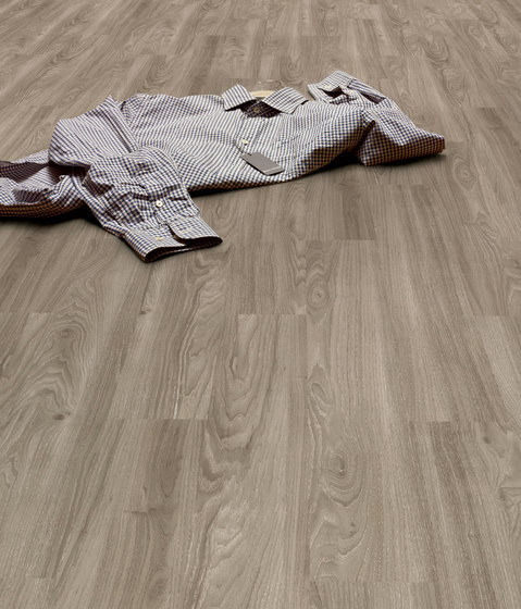 Expona Design - Brown Limed Oak Wood Smooth by objectflor