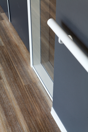 Expona Design - Blue Varnished Wood Wood Rough by objectflor