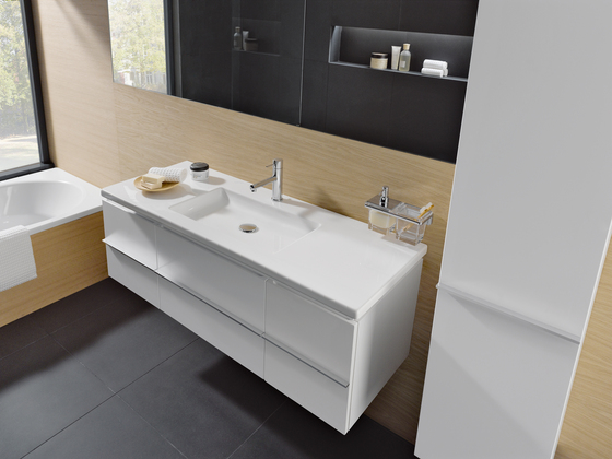 Case for living | Plan de toilette de Laufen