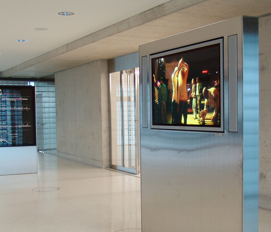 City Lights - E-Panel Monitor Systems by BURRI