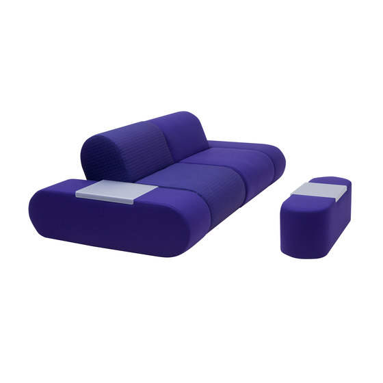 Heart pouf large di Softline A/S