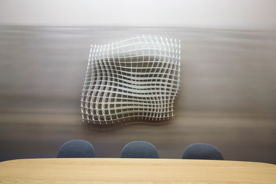 WAVE Acoustic wall sculptures di Wave