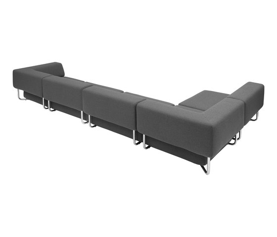 Noa chaise long de Softline A/S