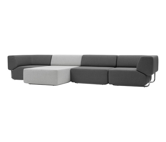 Noa chaise longue de Softline A/S