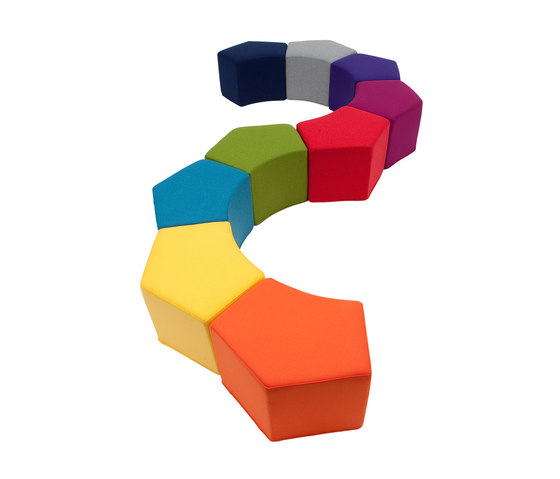 Pause pouf by Softline A/S