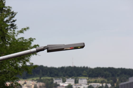 METRO 100 light pole double by BURRI