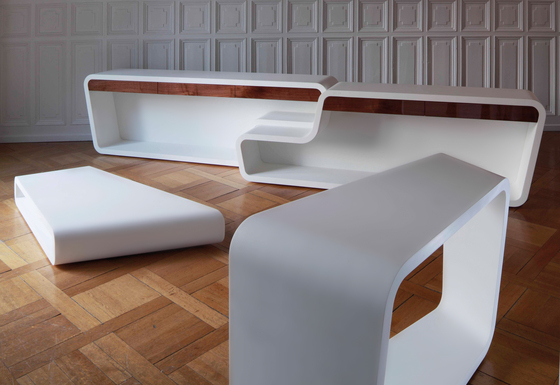 GL3A Lounge Table de GLAD, Guy Lafranchi