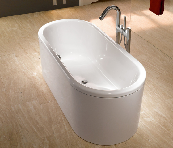 centro duo oval bathtub built in bathtubs from kaldewei architonic. Black Bedroom Furniture Sets. Home Design Ideas