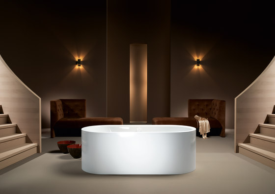 Centro Duo Oval Bathtub de Kaldewei