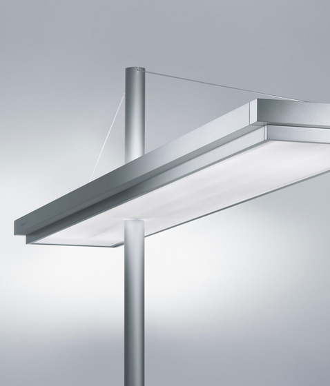TYCOON CF T5 Free-standing Luminaire DYS 254 by H. Waldmann