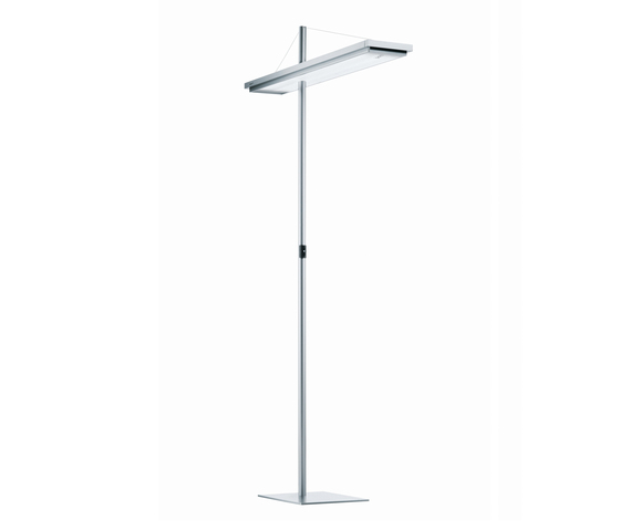 TYCOON CF T5 Free-standing Luminaire DYS 228 by H. Waldmann