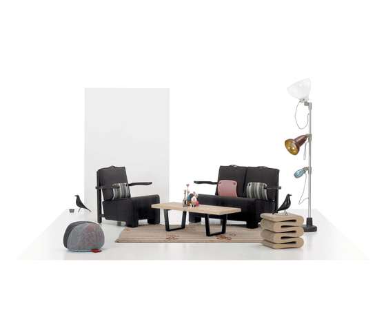 The Worker Sofa by Vitra