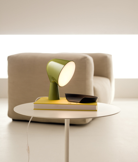 Binic table rose by Foscarini