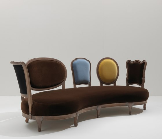 Back to Back 5306 Sofa by F.LLi BOFFI