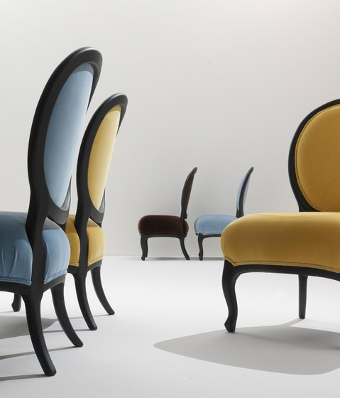 Rubens 5305 Chair by F.LLi BOFFI