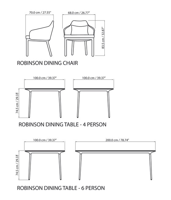 Robinson Lounge table von steve & james