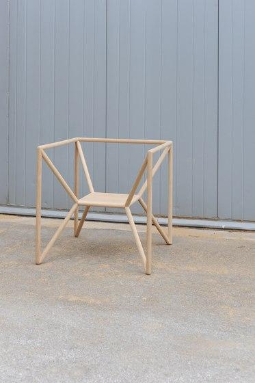 M3 Chair di Neue Wiener Werkstätte
