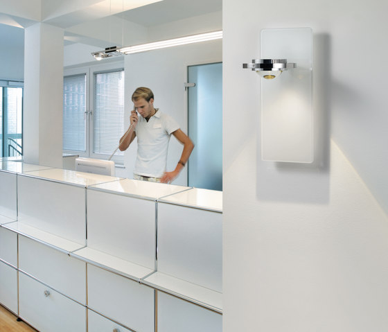 Ocular wall lamp S100 LED white by Licht im Raum