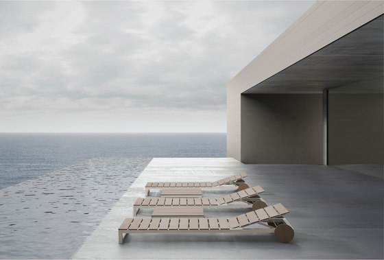 Atlantic chaise* de GANDIABLASCO
