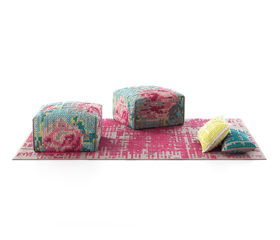 Canevas Cushion Abstract Pink 9 de GAN